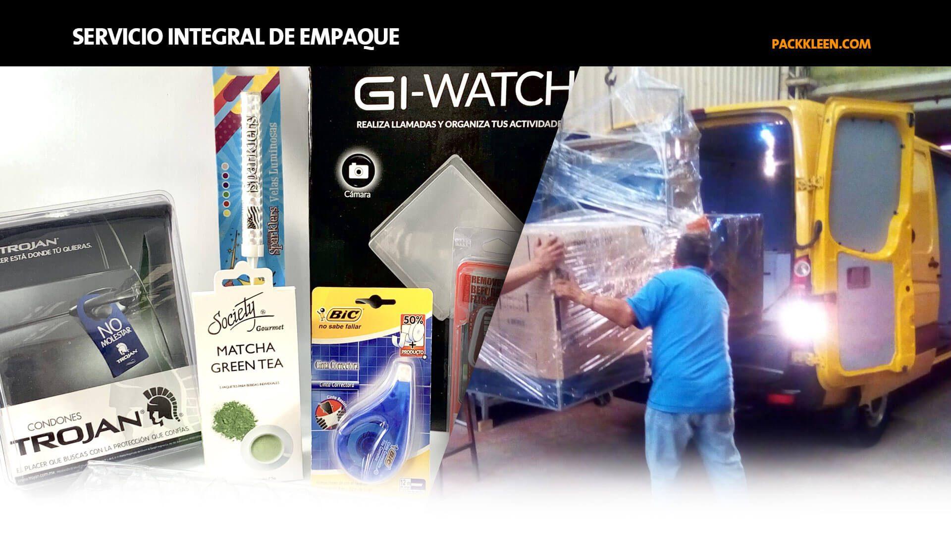 Servicio integral de empaque - Pack-Kleen México